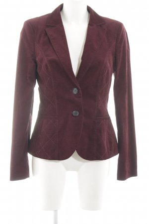 s.Oliver Kurz-Blazer rot Steppmuster Business-Look