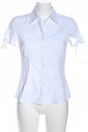 s.Oliver Kurzarm-Bluse weiß Business-Look