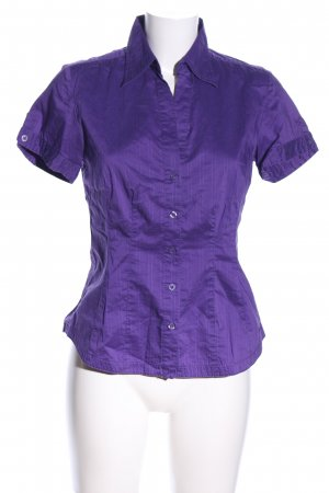 s.Oliver Kurzarm-Bluse lila Business-Look
