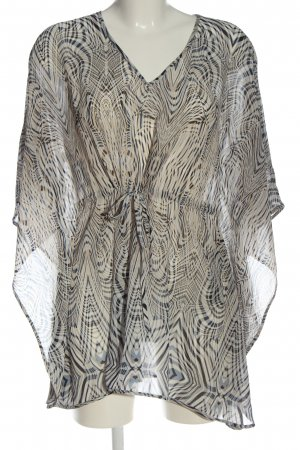 s.Oliver Tunic Dress white-black allover print casual look