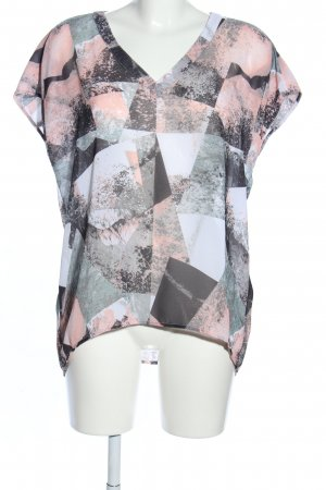 s.Oliver Kurzarm-Bluse mehrfarbig Casual-Look