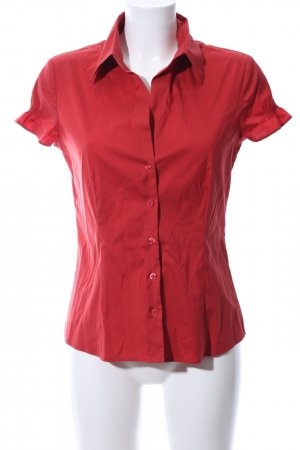 s.Oliver Kurzarm-Bluse rot Business-Look