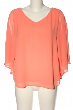s.Oliver Kurzarm-Bluse hellorange Casual-Look