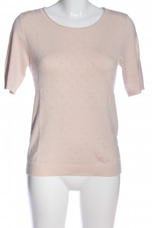 s.Oliver Kurzarm-Bluse creme Allover-Druck Casual-Look