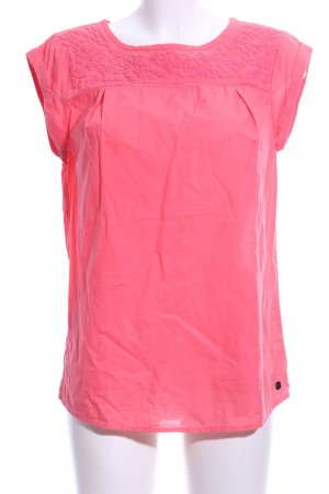 s.Oliver Kurzarm-Bluse pink Casual-Look