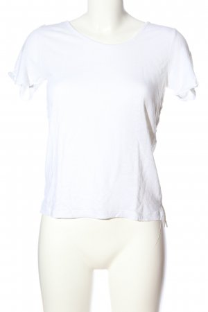 s.Oliver T-Shirt weiß Casual-Look