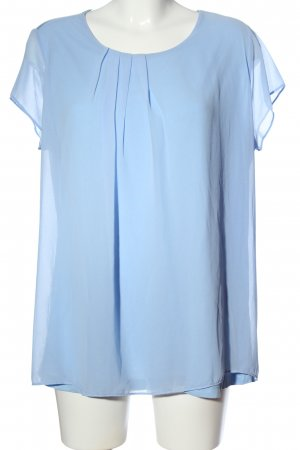 s.Oliver Kurzarm-Bluse blau Elegant