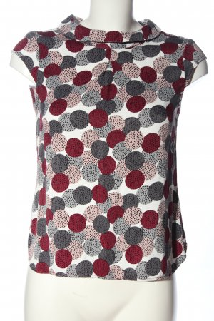 s.Oliver Kurzarm-Bluse Allover-Druck Business-Look