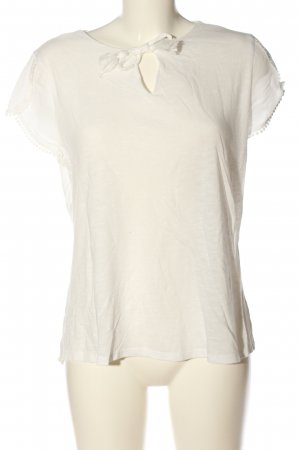 s.Oliver Short Sleeved Blouse white casual look