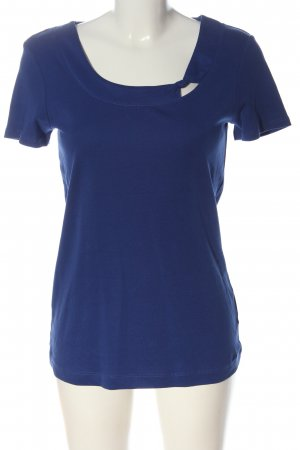 s.Oliver T-Shirt blau Casual-Look
