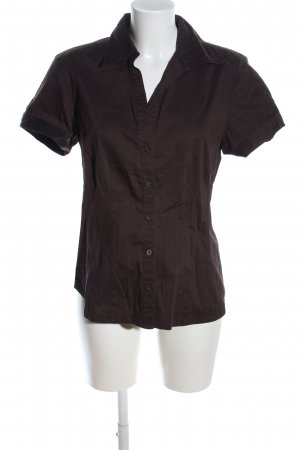 s.Oliver Kurzarm-Bluse braun Casual-Look