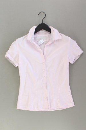s.Oliver Kurzarmbluse Größe 36 pink aus Baumwolle