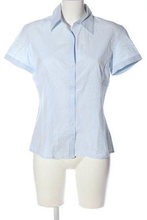 s.Oliver Camisa de manga corta azul-blanco estampado a rayas look casual