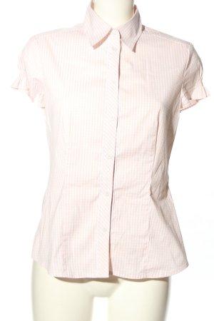 s.Oliver Camisa de manga corta rosa-blanco puro estampado a rayas look casual