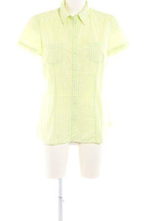 s.Oliver Shirt met korte mouwen sleutelbloem geruite print casual uitstraling
