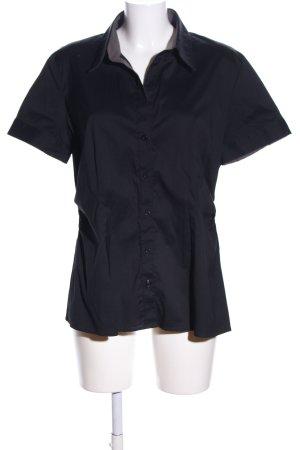 s.Oliver Chemise à manches courtes noir style décontracté