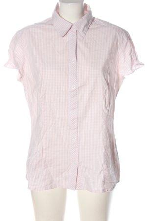 s.Oliver Camicia a maniche corte rosa-bianco motivo a quadri stile casual
