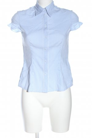 s.Oliver Shirt met korte mouwen blauw-wit volledige print casual uitstraling