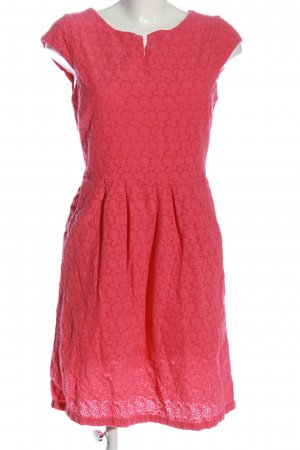 s.Oliver Kurzarmkleid rot Casual-Look