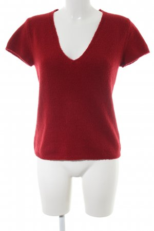s.Oliver Kurzarmpullover rot Casual-Look