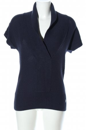 s.Oliver Short Sleeve Knitted Jacket blue casual look