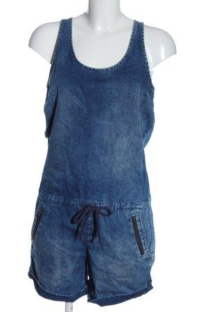 s.Oliver Kurzer Jumpsuit blau Casual-Look