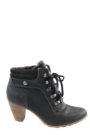 s.Oliver Korte laarzen zwart casual uitstraling