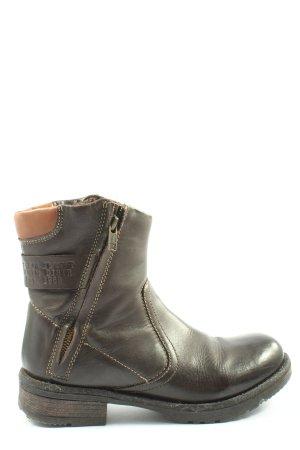 s.Oliver Krótkie buty brązowy W stylu casual