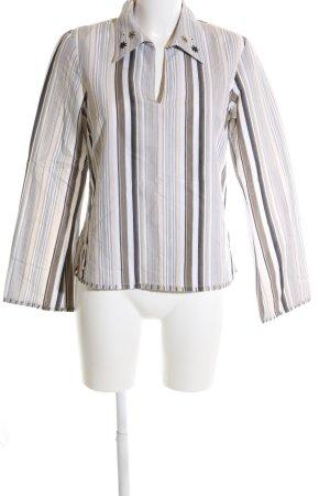 s.Oliver Langarm-Bluse Streifenmuster klassischer Stil