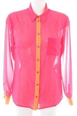 s.Oliver Langarm-Bluse pink-hellorange Elegant