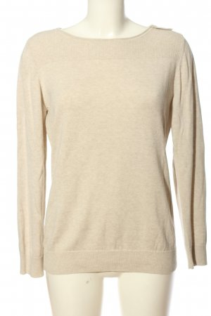 s.Oliver Langarm-Bluse wollweiß Casual-Look