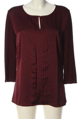 s.Oliver Langarm-Bluse rot Elegant
