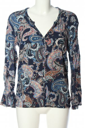 s.Oliver Long Sleeve Blouse abstract pattern casual look