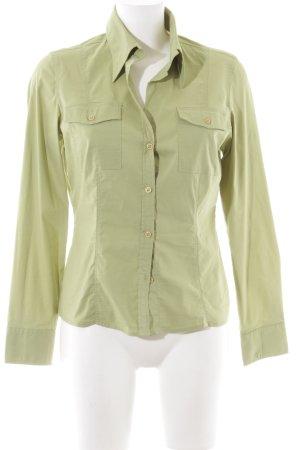 s.Oliver Langarm-Bluse khaki Business-Look