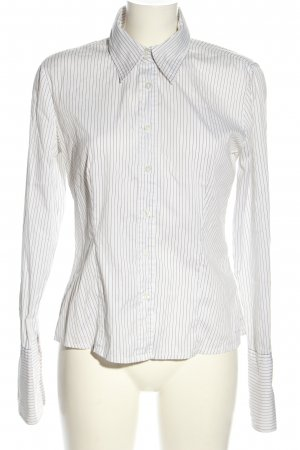s.Oliver Long Sleeve Blouse white-black allover print business style