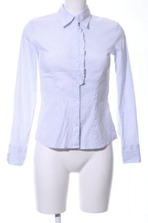 s.Oliver Langarm-Bluse blau-weiß Streifenmuster Business-Look
