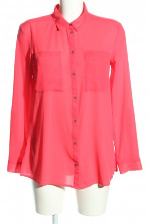 s.Oliver Langarm-Bluse pink Casual-Look