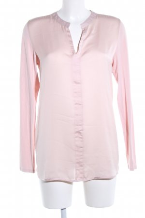 s.Oliver Langarm-Bluse pink Business-Look