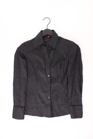 s.Oliver Long Sleeve Blouse black cotton