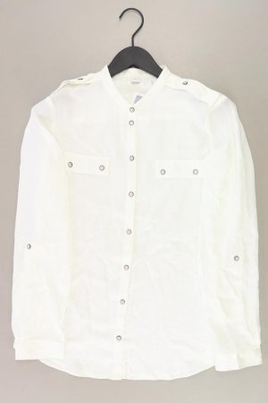 s.Oliver Langarmbluse Größe 38 creme aus Polyester