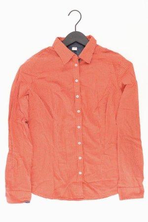 s.Oliver Langarmbluse Größe 38 orange aus Baumwolle