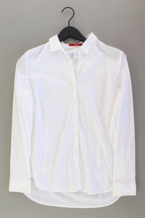 s.Oliver Langarmbluse Größe 38 weiß aus Polyester