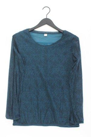 s.Oliver Langarmbluse Größe 40 blau aus Polyamid