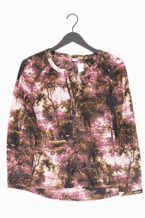 s.Oliver Langarmbluse Größe 40 mehrfarbig aus Polyester
