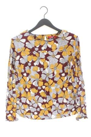 s.Oliver Langarmbluse Größe 40 mit Blumenmuster mehrfarbig aus Viskose