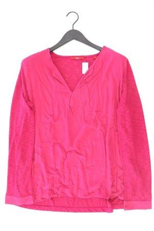 s.Oliver Langarmbluse Größe 44 pink aus Polyester