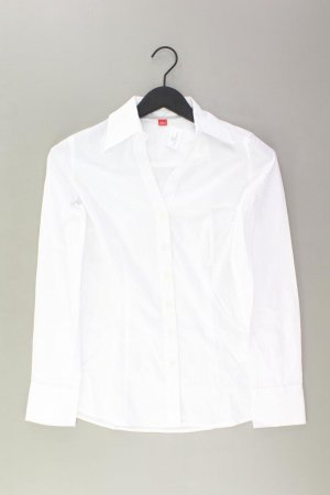 s.Oliver Langarmbluse Größe S weiß aus Baumwolle