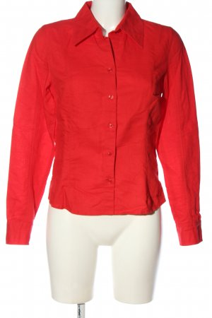 s.Oliver Langarmhemd rot Casual-Look