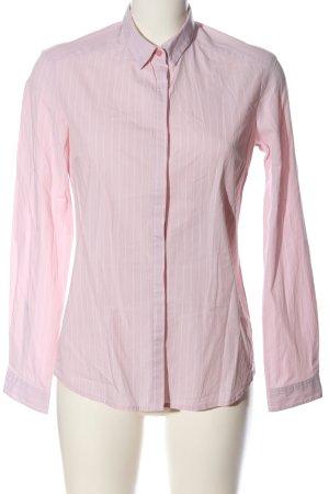s.Oliver Langarmhemd pink-weiß Streifenmuster Casual-Look