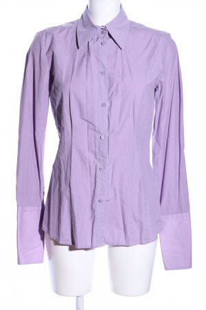 s.Oliver Langarmhemd lila Streifenmuster Casual-Look